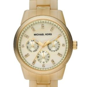 Michael Kors Jet Set Horn Watch